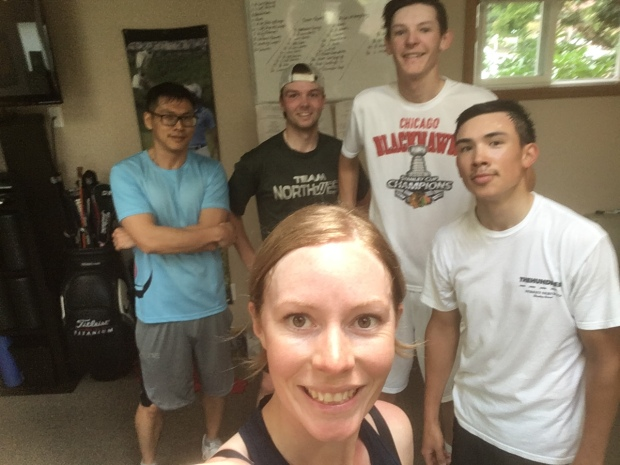Workout crew